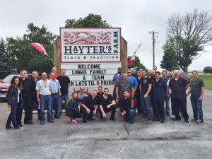 Longo's meat team travels to Dashwood to visit Hayter's Farm - our signature turkey provider.