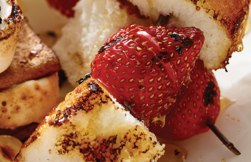 Deconstructed Grilled Shortcake (click image for recipe)
