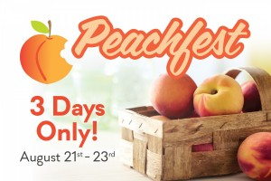 Longo's annual Peachfest event is on this weekend.