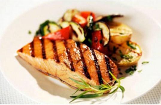 Maple BBQ Salmon (click for recipe)