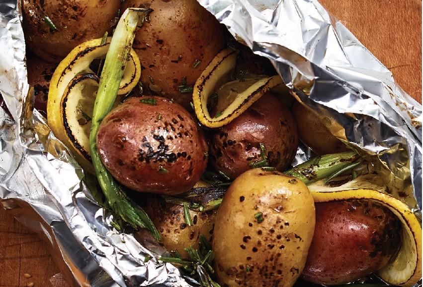 Mini Potatoes with Rosemary &Lemon