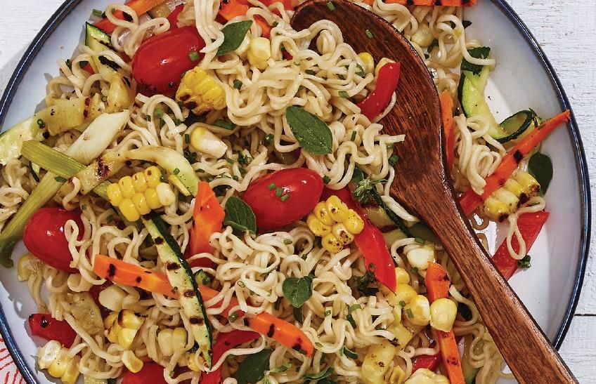 Grilled Vegetable Noodle Salad
