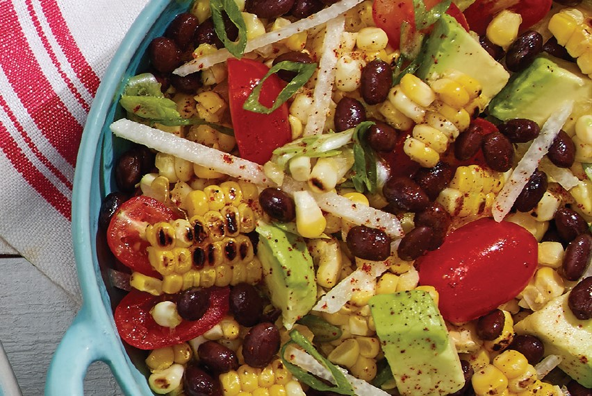 Mexican Spiced Corn with Chili Lime Mayo