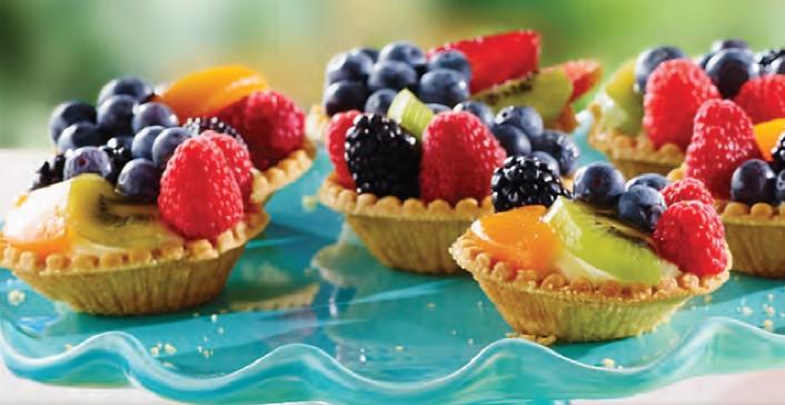 Fruit Topped Tarts