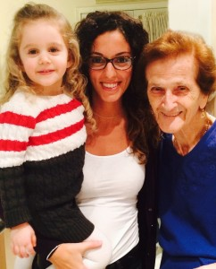 Yours truly, Nonna & her little namesake, Anna.