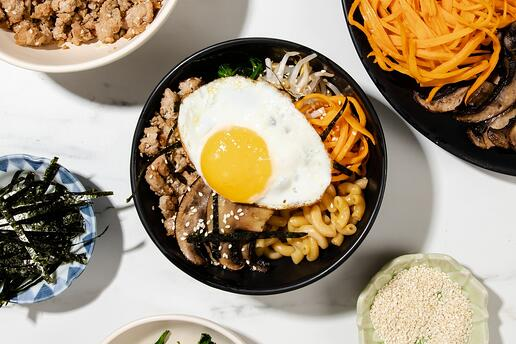 Barilla Bibimbap Power Bowl-Longo's-Recipe