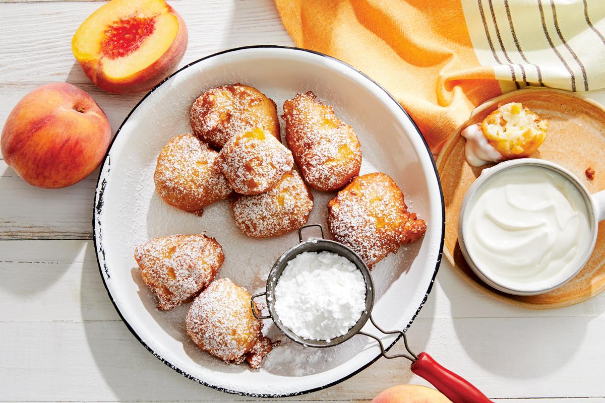 Peach Puffs