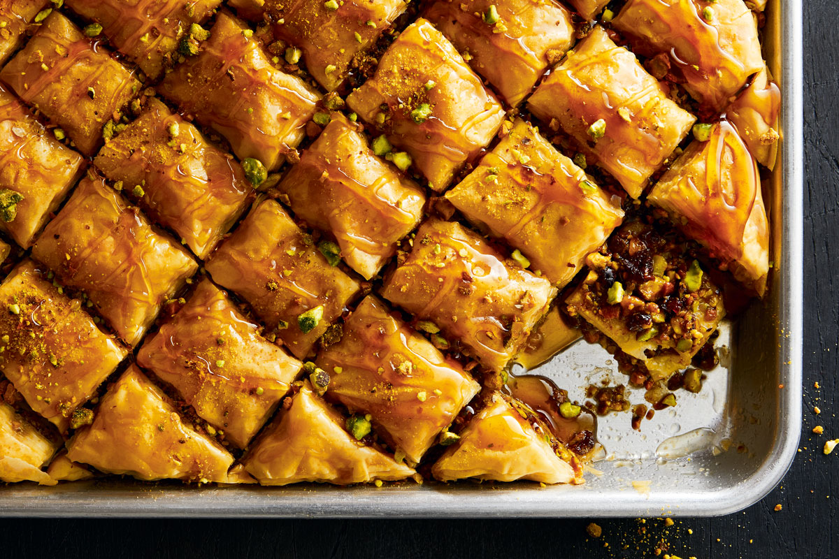 Dried Fruit and Nut Baklava